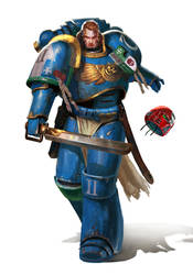 Ultramarine-4th company by DiegoGisbertLlorens