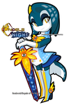 Sonar in Engels of the Night costume 2