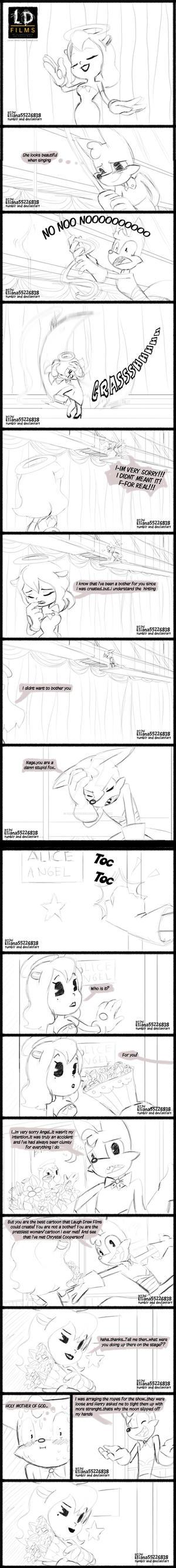 Doodle Alice and Nage by eliana55226838
