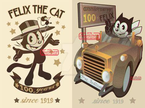 Felix the cat 100 anniversary