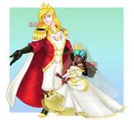 Prince Kal and Lina Foord