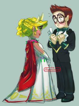 Doodles Princess and Dmitri
