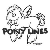 P2U -- Pony Lineart [50 points] by Hardrockangel-Adopts