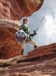 Link in Gerudo Desert (Twilight Princess)