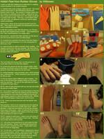 Hobbit Feet from Rubber Gloves Tutorial by Wilkowen