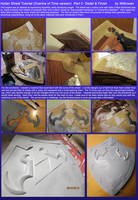 Hylian Shield Finishing: Ocarina of Time version by Wilkowen