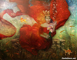 Pond Queen by lindalewis