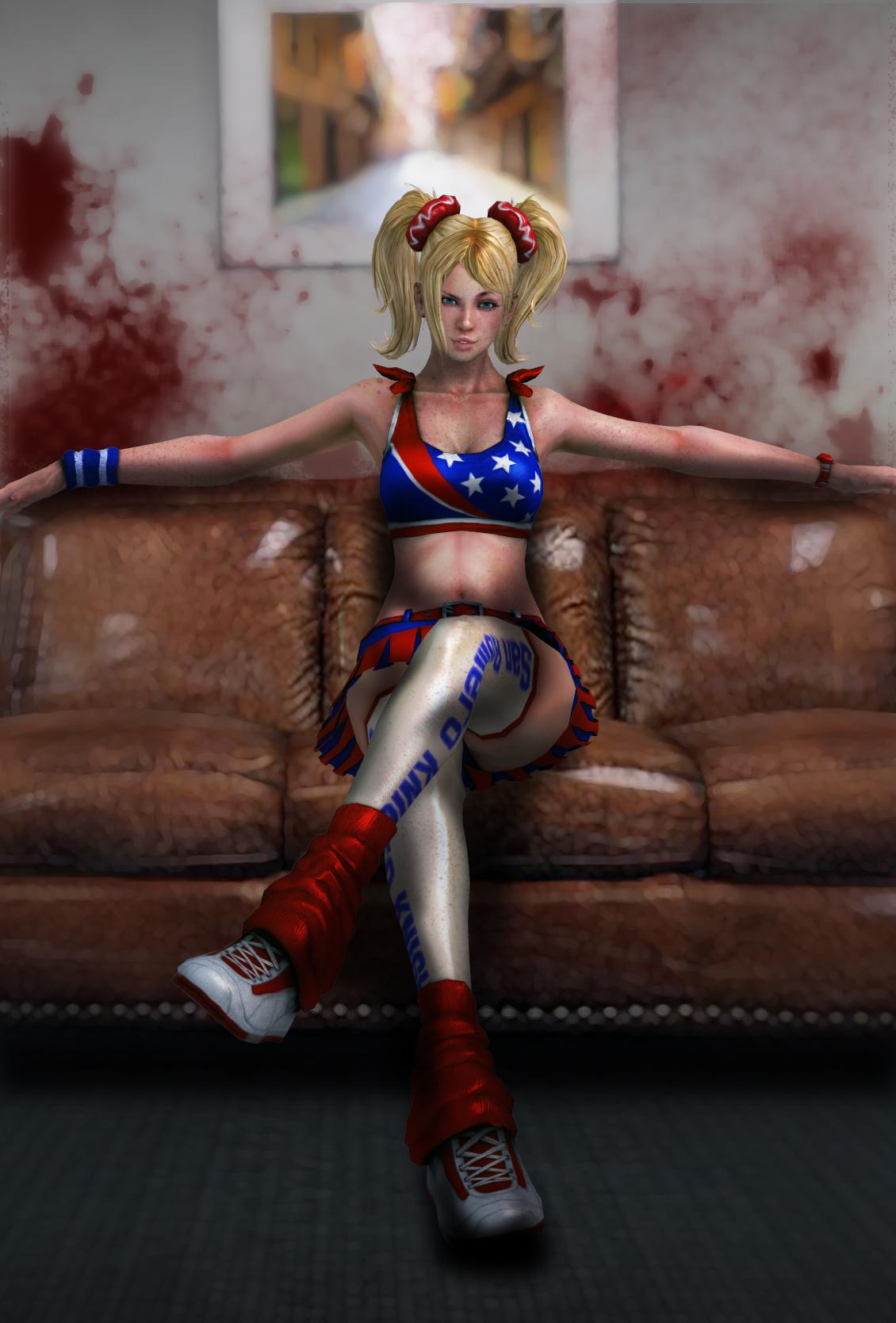 Sexy Teen Zombie Killer by iamthelegion