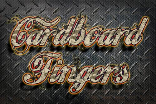 Cardboard Fingers by lewiskaaly