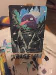 Painted Shelder Card