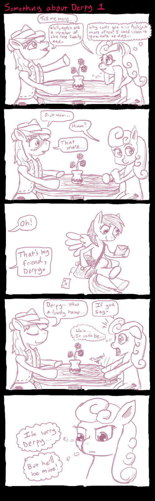 Something About Derpy 1 by FicFicPonyFic