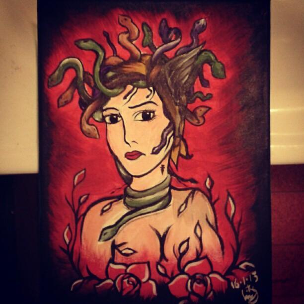 Medusa by Shakespearian-liv