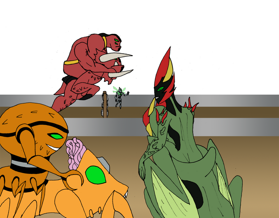 Alien Olympics Unfinished by Binkatong