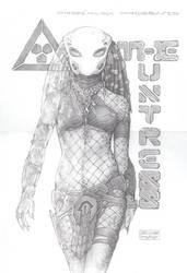The Huntress by PRED-ALEX