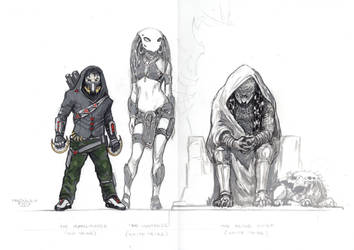 Predatory Planet. Main characters#1 by PRED-ALEX