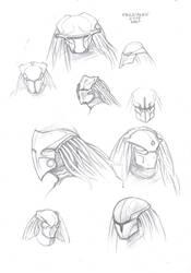 Predator mask#design concept#6 by PRED-ALEX