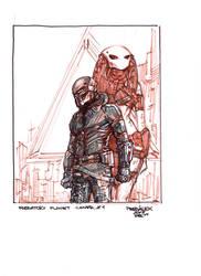 PredatoryPlanetCover#Sketch#1 by PRED-ALEX