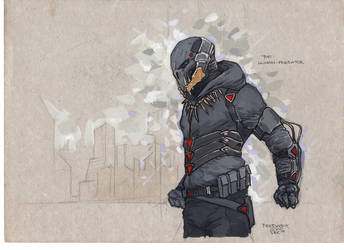 The Human-Predator Concept#3 by PRED-ALEX