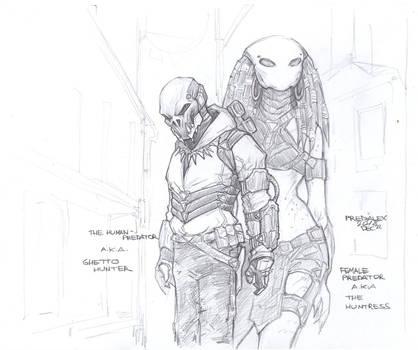 The Human-Predator Concept#4 by PRED-ALEX