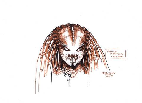 Female Predator#Concept 3 by PRED-ALEX