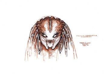 Female Predator#Concept 4 by PRED-ALEX
