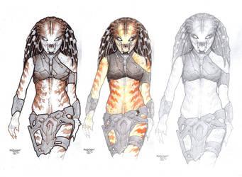 Female Predator#Concept 6 by PRED-ALEX
