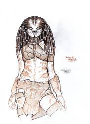 Female Predator#Concept 7 by PRED-ALEX