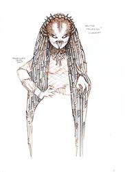 Female Predator-Yautja Princess#Concept1 by PRED-ALEX