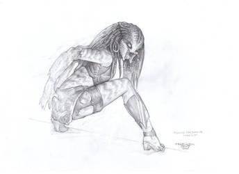 Female Predator#Concept 9 by PRED-ALEX
