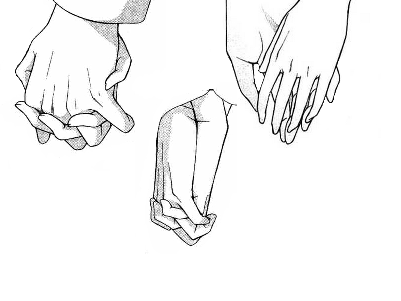 Holding hands by benulis