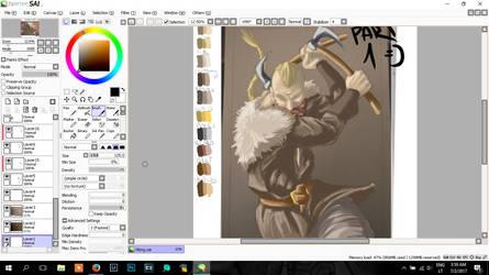 Speed paint - Vikings Part 1