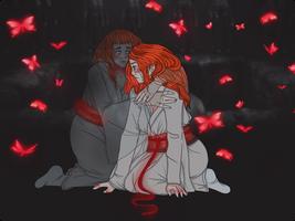 The Twins Return. by pumpkin-juice