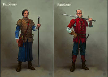 the Fellowship by draegg