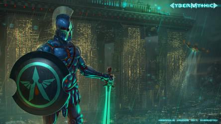 Overwatch Kronos-Megapolis by draegg