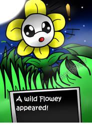 A wild Flowey Appeared!