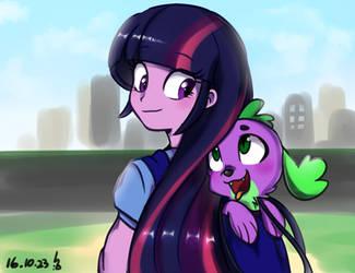 Equestria Girls Pincess Twilight Sparkle by Haden-2375