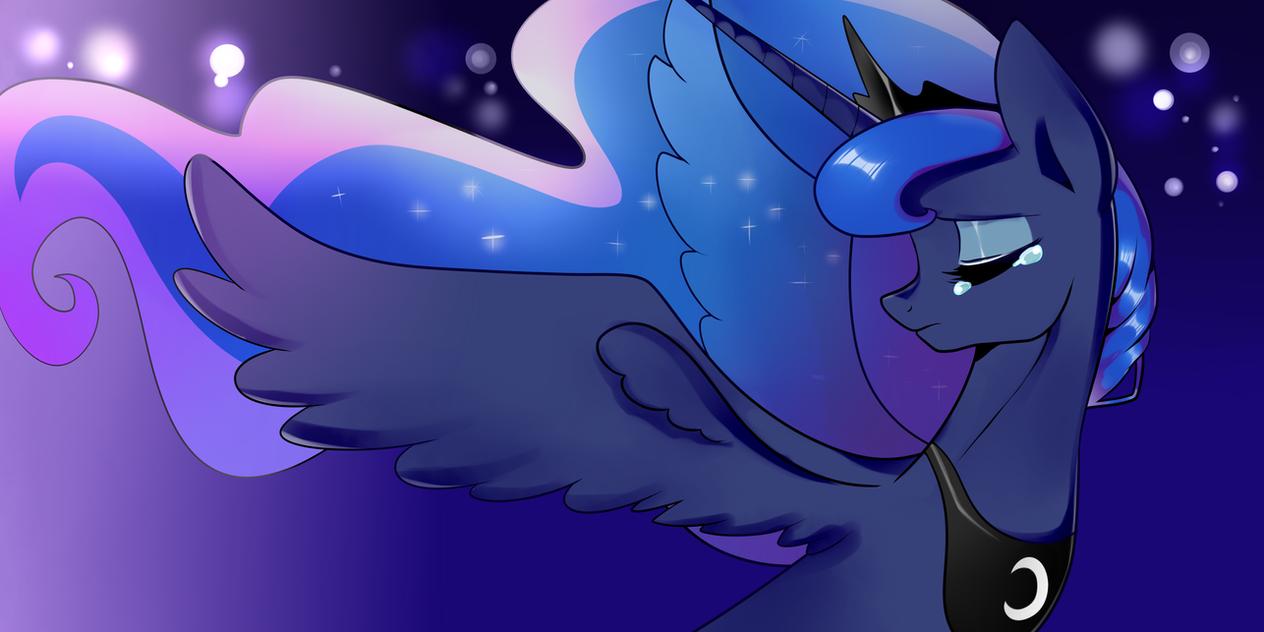 Sad Princess Luna by Haden-2375