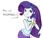 That was adorable~! Rarity