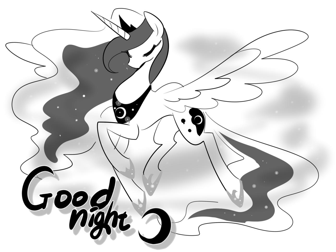 Good night- Luna by Haden-2375