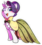 Rarity in a great dress