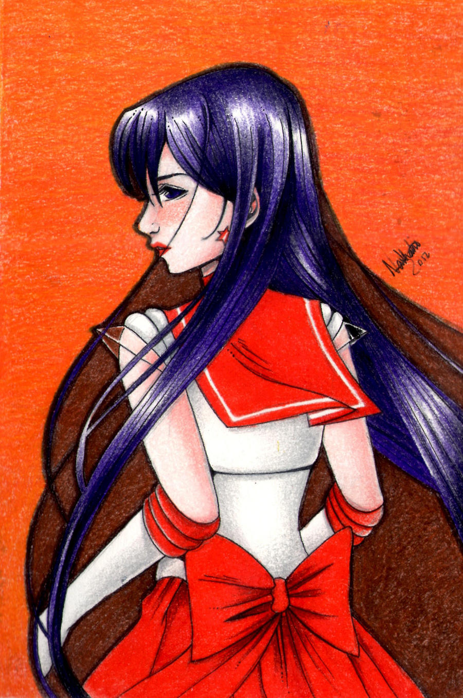 Sailor Mars 02 by lillybraconnot