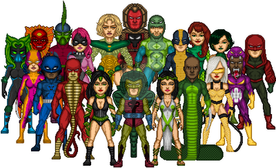Serpent Society Groupshot by Mickeyd489