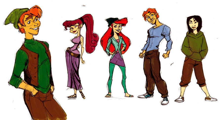Disney Kids by Silk-Ward