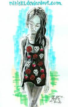 melancholy rose [gothic summer]