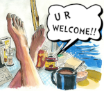 U R WELCOME!! by nihiski