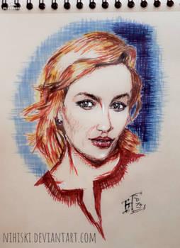 Portrait sketch [Emilia Clarke]