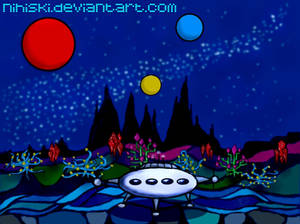 the alien planet
