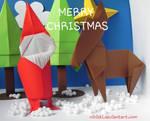 Merry Christmas 2019 [Origami]