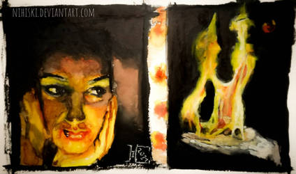 glowing [diptych]