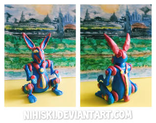 mecha bunny (painted version)